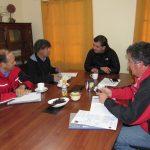Alcalde Roberto Torres Huerta se reúne con director provincial de Vialidad para analizar mejoras en variados caminos