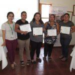 Vecinas de Alhué recibieron certificación de curso de panadería gourmet