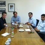 Alcalde Roberto Torres Huerta se reúne con director regional del INDAP para evaluar interesante proyecto