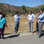 Alcalde Roberto Torres Huerta realizó una inspección a terrenos donde estará emplazada Estación Médico Rural de Talamí