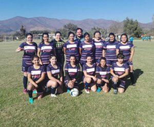 Selección de fútbol femenino de Alhué obtuvo tercer lugar en Campeonato organizado en Mallarauco