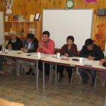 Decenas de vecinos de El Asiento se hicieron parte del Concejo en Terreno
