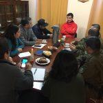 Alcalde Roberto Torres sostuvo encuentro con Comité Comunal de Emergencias para preparar plan de contingencia por fuerte sistema frontal
